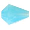 Fire polished 16x12mm Drop Blue Aqua Opal Natural Strung